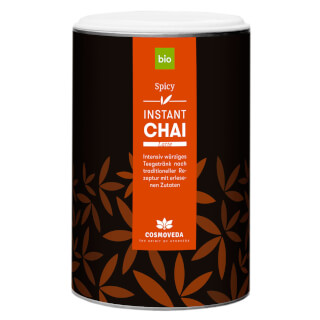 Organic Instant Chai Latte - Spicy, 200 g