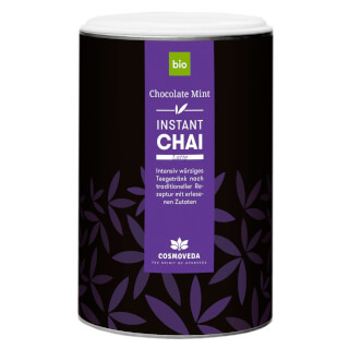 Instant Chai Latte Chocolate-Mint Bio, 200 g