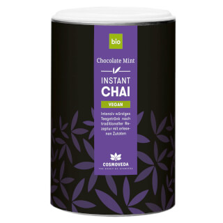 Instant Chai Vegan Chocolate-Mint Bio, 200 g
