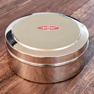 Masala Box for spices, stainless steel
