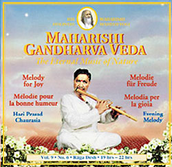 Melody For Joy, Vol. 9, No. 6 - Hari Prasad Chaurasia (Bambusflöte) CD