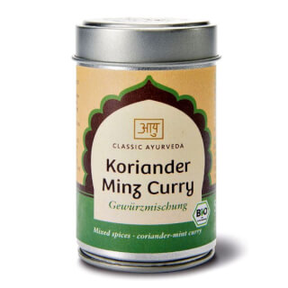 Koriander Minz Curry Bio, 50 g