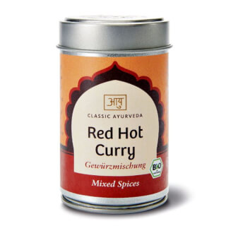 Red Hot Curry Bio, 60 g