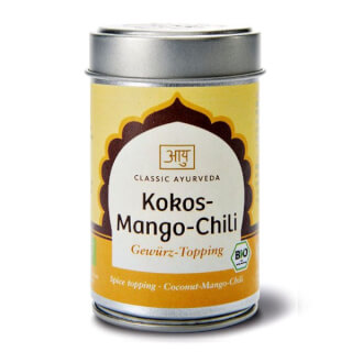 Coco-Mangue-Chili, garniture bio, 60g