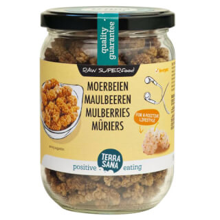 White Mulberries organic Superfood, 190 g