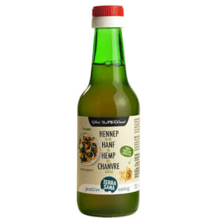 Hempseed oil organic, cold-pressed, 250 ml