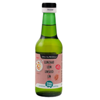 Linseed oil organic, cold pressed, 250 ml