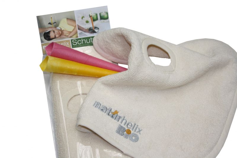 Organic protective towel for Naturhelix Candles