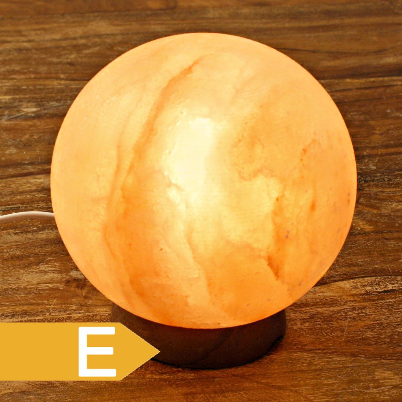 salzkristall lampe kugel planet ca 4 5 kg. Black Bedroom Furniture Sets. Home Design Ideas