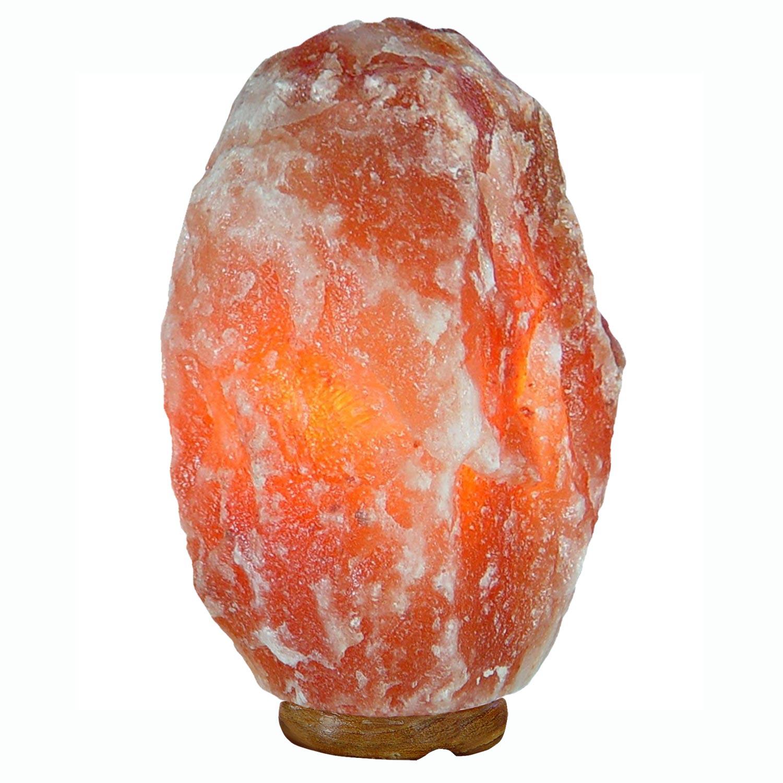 salzkristall lampe mit holzsockel ca 28 kg. Black Bedroom Furniture Sets. Home Design Ideas