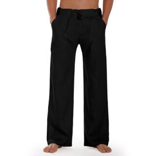 3e6c8edc97ed40 Essential - Linen Trousers Schazad, black (black / S)