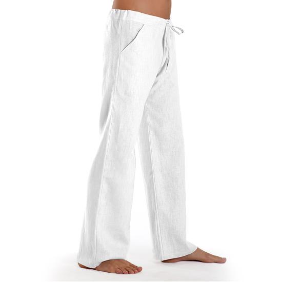 13a5da1464802f Essential - Linen Trousers Schazad, white (white / S)
