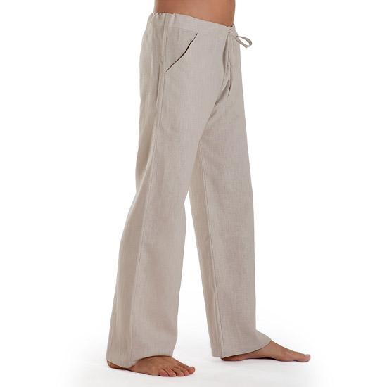 dc422882635ef8 Essential - Linen Trousers Schazad, beige (beige / S)