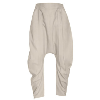55244f2fb174b4 Harem Comfort - Linen Trousers Schazad, beige (beige / S)