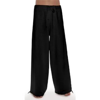 d32c7da41d4a31 Deluxe – Linen Trousers Schazad, black (black / S)