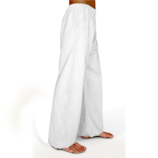 a21299690f3bce Delight - Linen Trousers Schazad, white (white / S)