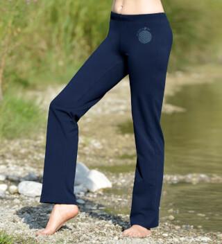 b488c05e9a Wellness Yoga trousers unisex, Dark Blue (blue / S)