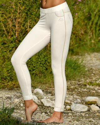 Yoga Jegging, naturweiss