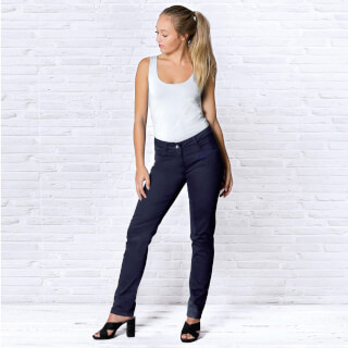 Organic cotton Jeans Women, Dark Blue