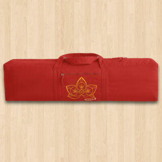 "Yoga bag ""Lotus"", red"