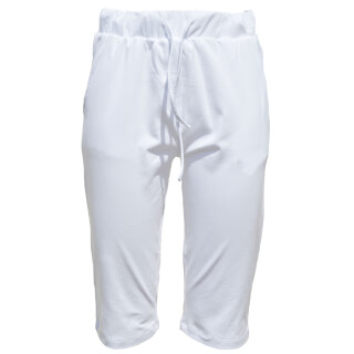 Padmini Yoga Bermudas, white