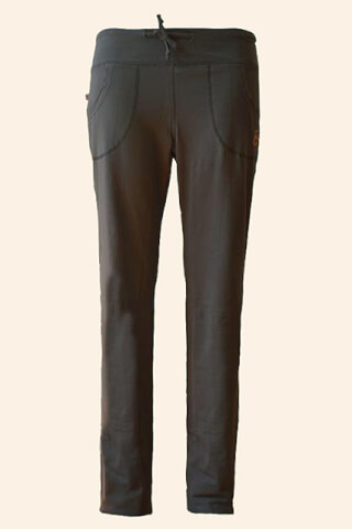 Yoga trousers Balaj, dark olive