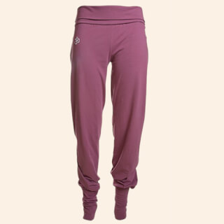 64b7778c5258a4 Yoga trousers Devata, Harem trousers, Orchid (purple / M)
