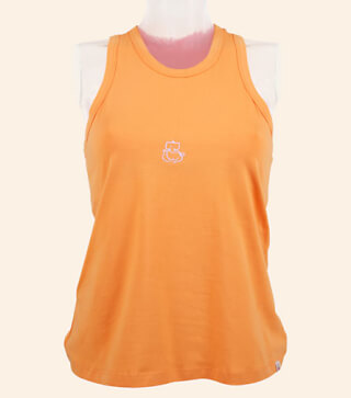 Candra Yoga Tank-Top, Sunset-Orange