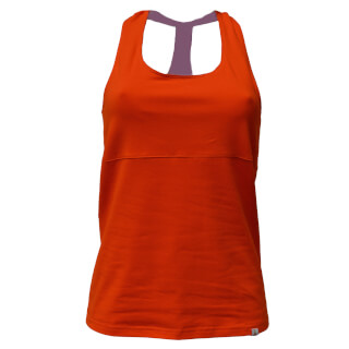 Kali Yoga Workout-Shirt, Tangerine