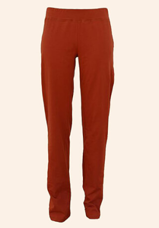 Navina Basic Yoga Pants, Marsala