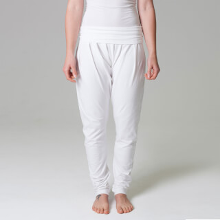 Yoga Pants Akaal Women, white