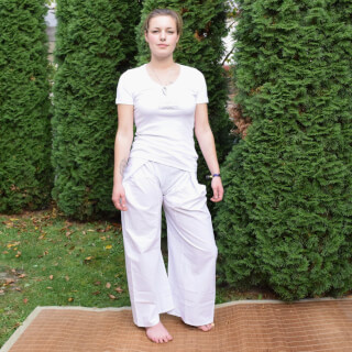 Thai-trousers white