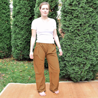 Thai trousers, Apricot