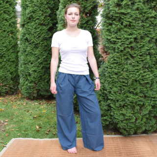 Thai trousers, Water-Blue