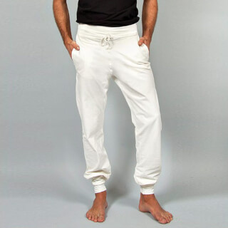 Mahan Yoga Pants Men, white