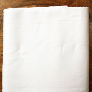 Turban cloth Voile, White, 1 meter