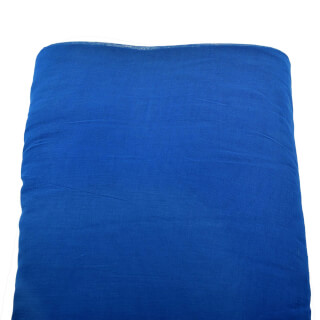 Turbanstoff Voile, Royal-Blue, 1 Meter