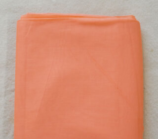 Turbanstoff Voile, Peach, 1 Meter