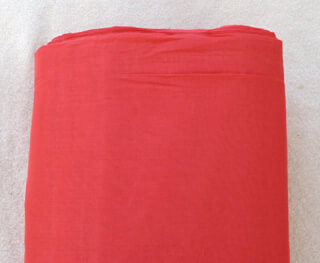 Turbanstoff Voile, Raspberry 1 Meter