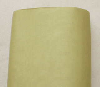 Turban cloth Voile, Khaki-Green, 1 meter