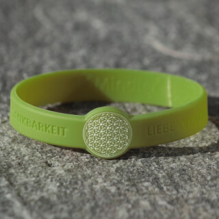 Mindlet Flower of Life bracelet, green