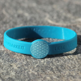 Mindlet Flower of Life bracelet, blue