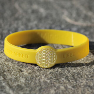 Mindlet Flower of Life bracelet, yellow
