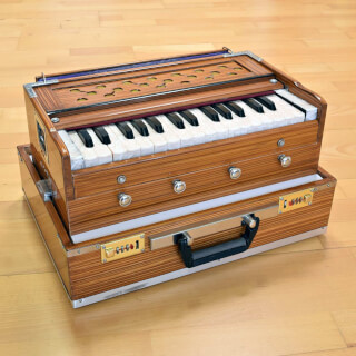 Harmonium Sat Nam Travel, brun clair
