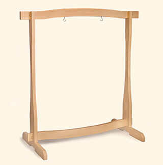 "Gong Stand solid beech, for 32"" Gongs"