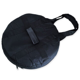 "Padded Nylon Gong Bag, Black, for 32"" Gongs"