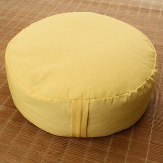 Meditation cushion Sitting Isle, Golden Yellow