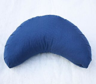 Moon Meditation cushion, Dark Blue