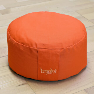 Meditationskissen Baghi Rund Basic, Orange