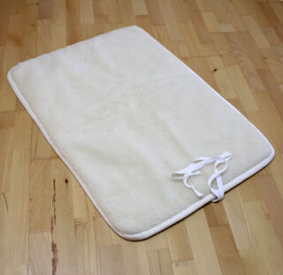 Tapis de yoga Naturel Standard, court, 70 x 100 cm